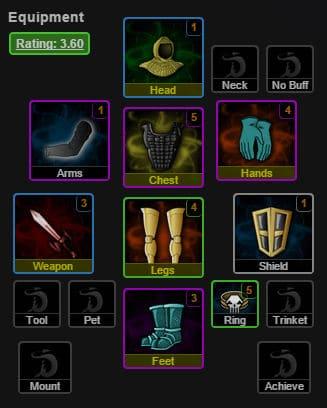 Equipment Slots